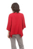 Pocket 3/4 Sleeve, Crimson