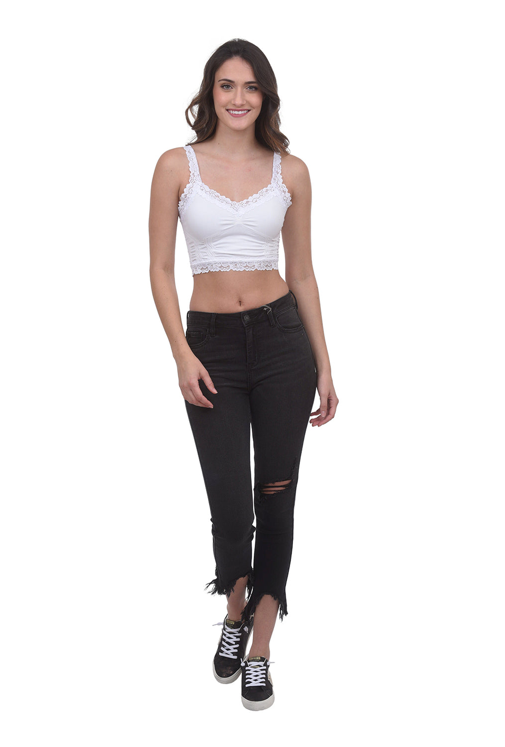Seamless Cropped Cami, Multiple Colors