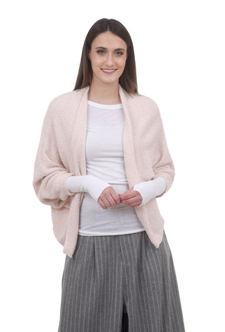 Open Cuddle Cardie, Blush