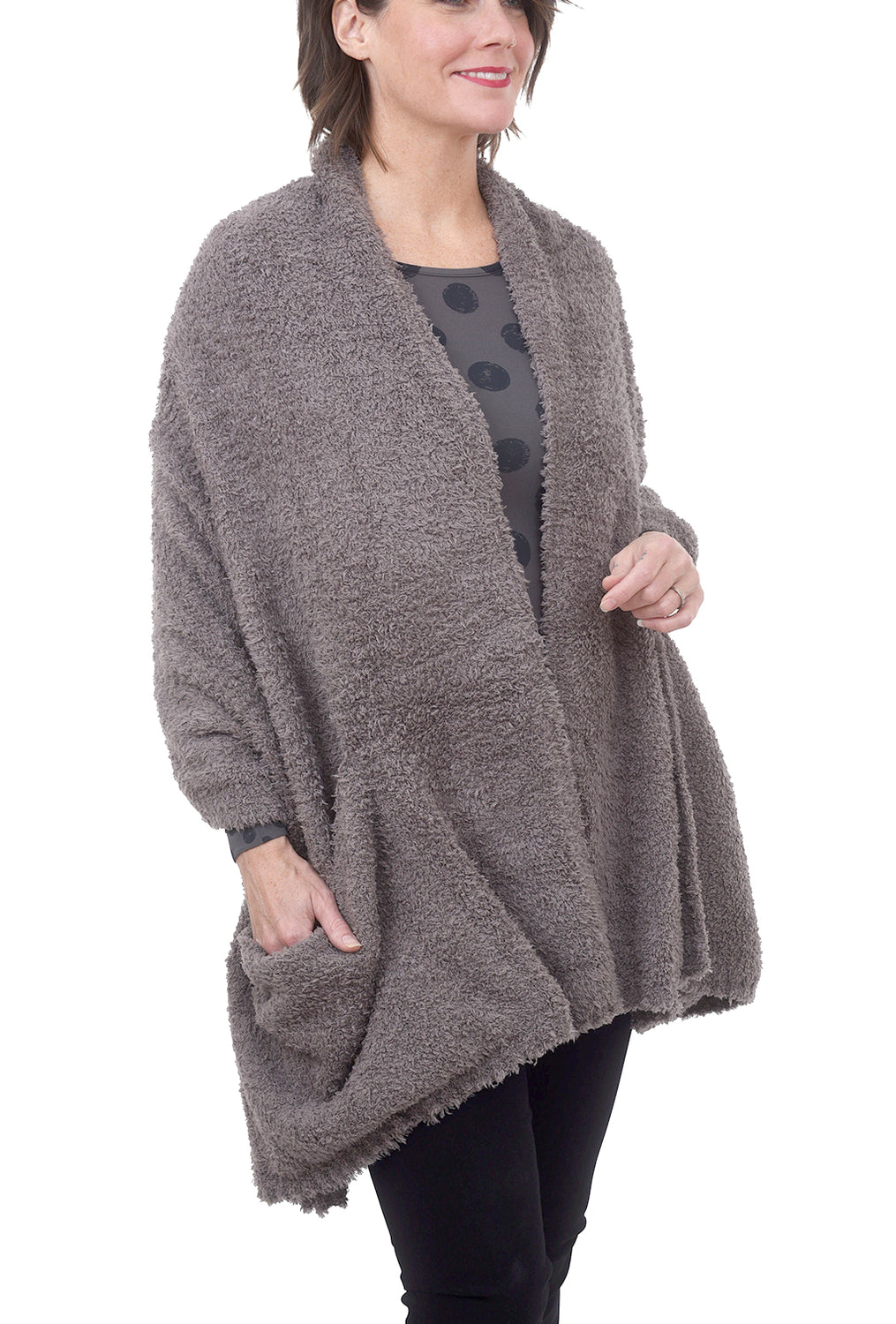Cozychic Travel Shawl, Charcoal