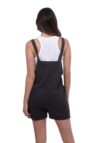 Cabo Shortie Overalls, Navy