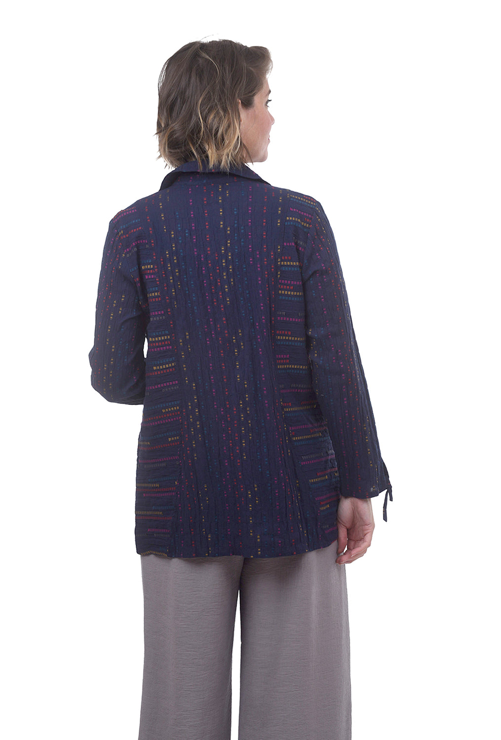 Peruvian Pocket Shirt, Indigo