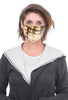 Coin Tie-Dye Face Mask, Maize/Eggplant MORE
