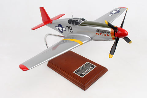 A2524 EXEC SER P-51C TUSKEGEE SIGNED BY CHARLES MCGEE 1/24