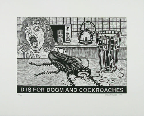 D is for Doom and Cockroaches Anton Kannemeyer