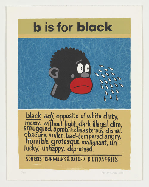 B is for Black