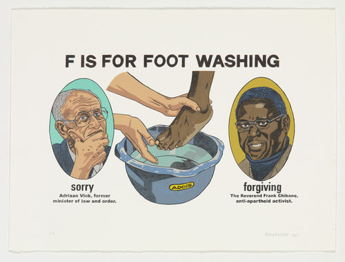 F is for Footwashing