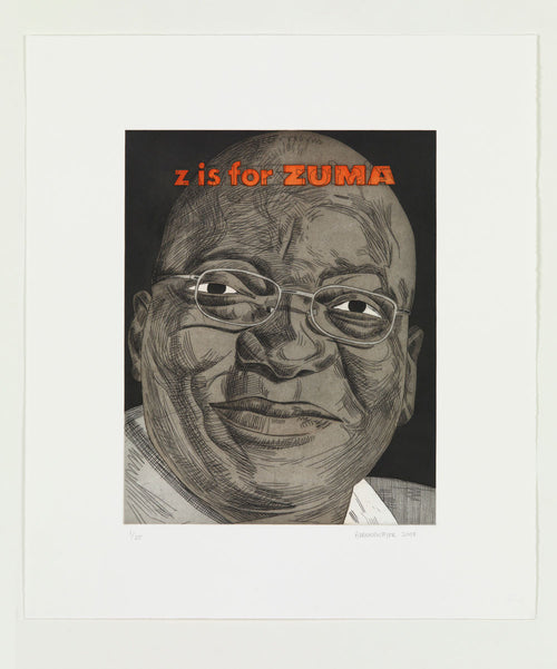 Z is for Zuma Anton Kannemeyer