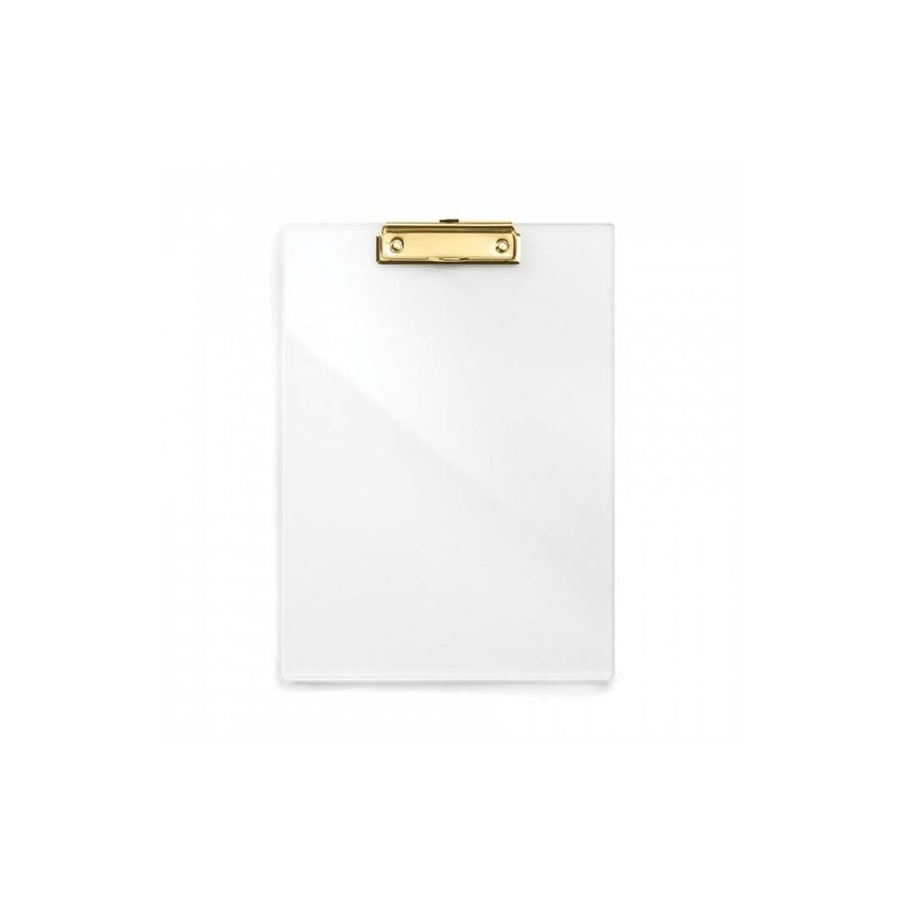 Load image into Gallery viewer, Acrylic & Gold Clip Board