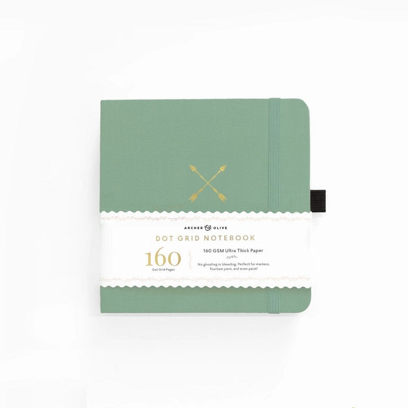 Twin Arrows Dot Grid Notebook · Square