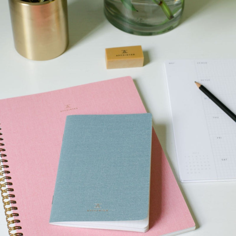 Lined Notebook · Blossom Pink