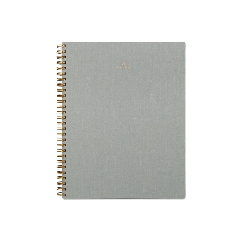 Lined Notebook · Dove Grey
