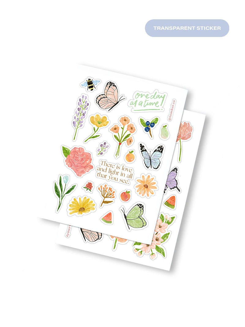 kāi Sticker Pack: Spring Blooms
