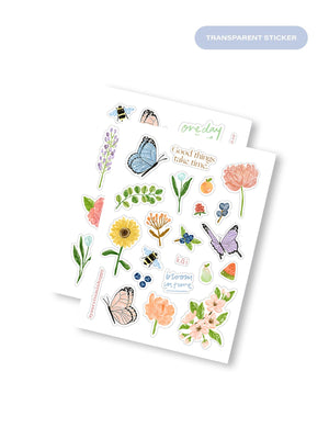 Load image into Gallery viewer, kāi Sticker Pack: Spring Blooms