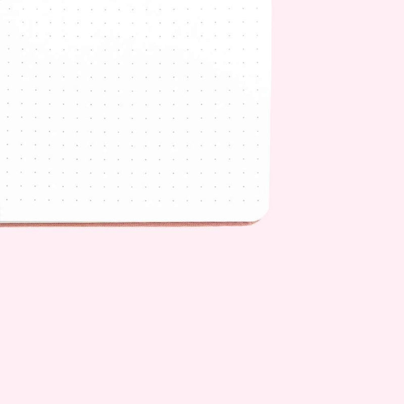 Crescent Moon Dot Grid Notebook - A5 - Bujoish