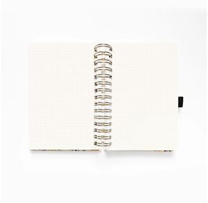 Watercolour Dot Grid Journal · Blush-a-bye · A5 - Bujoish