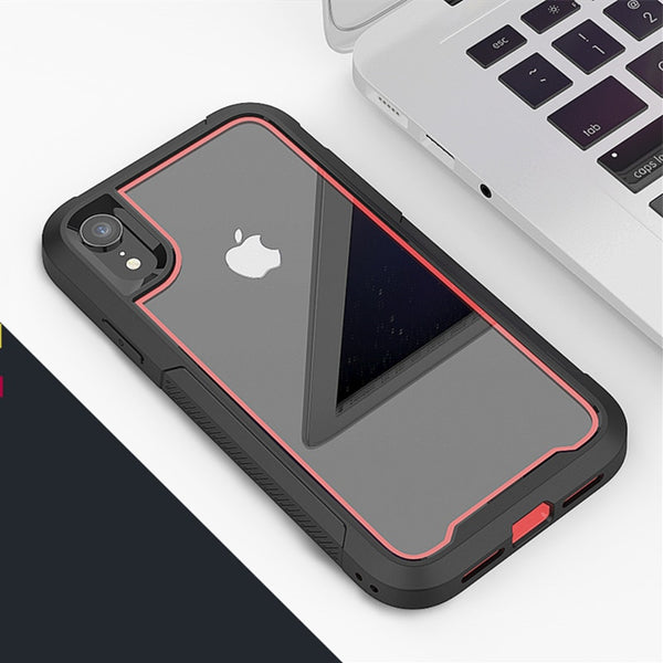 Hybrid Armor Shockproof Phone Case For iPhone