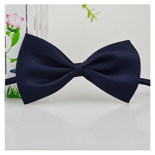 Polyester dog bow tie