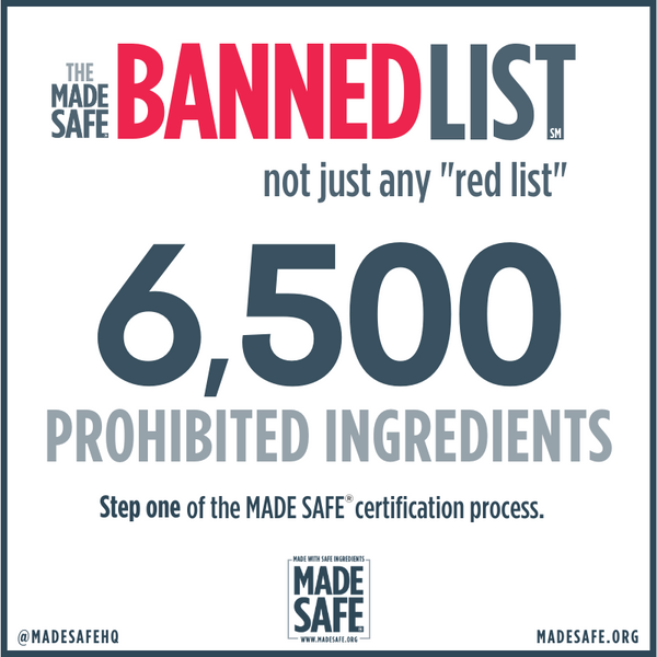 Made Safe Bans 6500 toxic chemicals