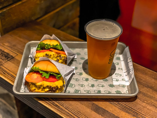 Beer and burgers.