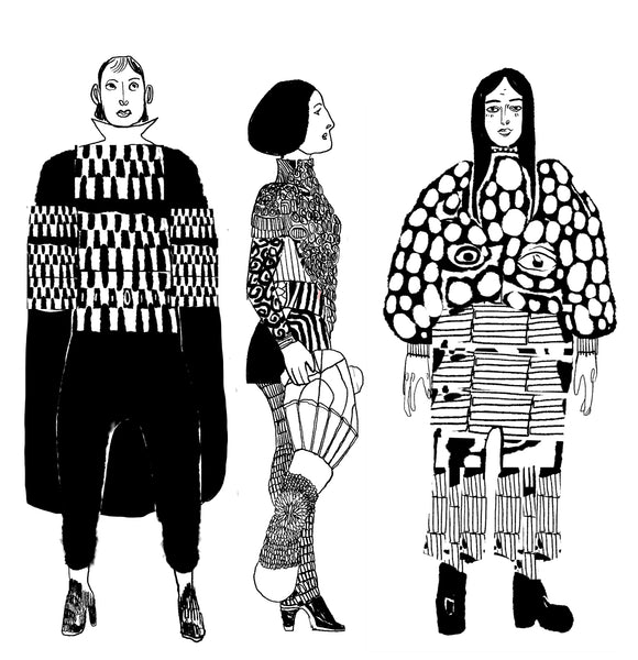 Three Fashion Designs