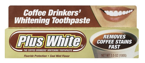 Plus White Coffee Drinkers Toothpaste 100g