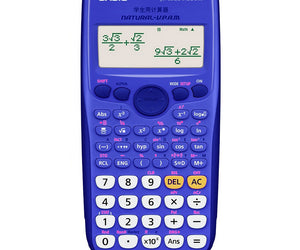 Casio FX-82 ZA Plus Calculator - Blue - FYIonline