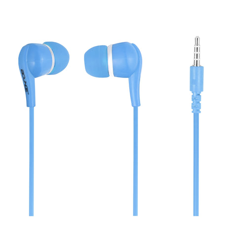 Bounce Hustle Series Earphones - Blue - FYIonline