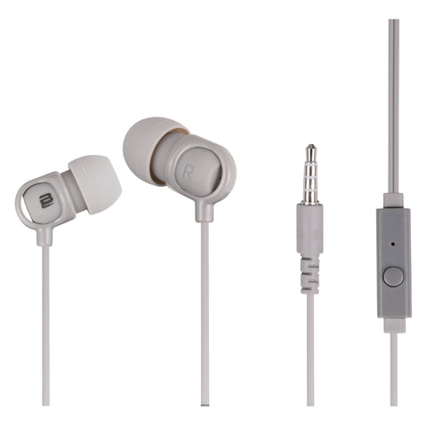 Bounce Jive Series Earphones - Grey - FYIonline