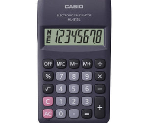 Casio HL 815 Pocket Calculator - FYIonline