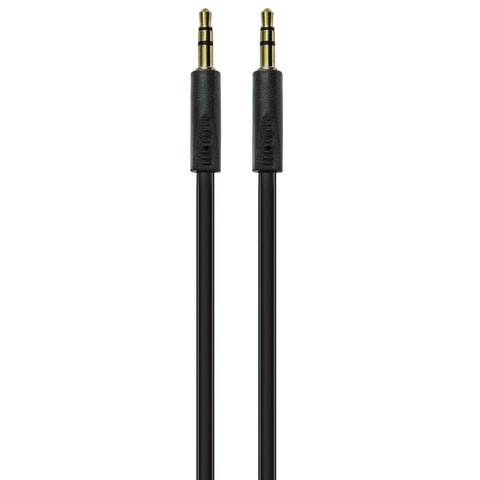Volkano Slim series Aux Cable 2m Black - FYIonline