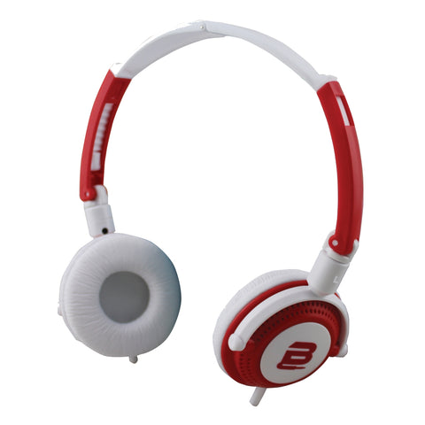 Bounce Swing Series Headphones - Red/White - FYIonline