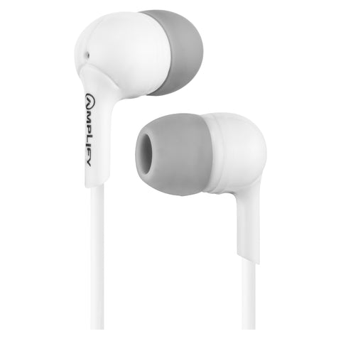 Amplify Jazz Series Earphones - White - FYIonline