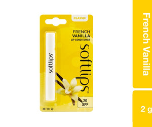 Softlips Frech Vanilla 2g Pack of 12