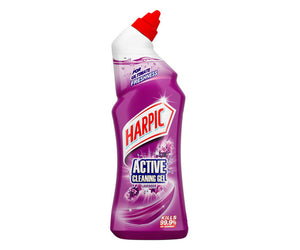 Harpic Active Cleaning Gel Lavender 750ml Shrink of 6