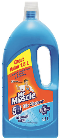 Mr Muscle Tile Cleaner Mountain Fresh 1 x 1.5L