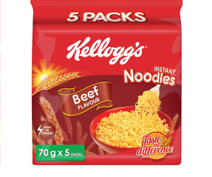 Kelloggs Beef Noodles 70g (5 x 8) MultiPack