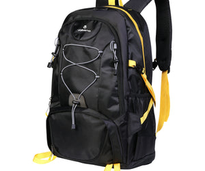 Volkano Clarence Day Pack 40L Blk/Yell - FYIonline