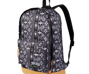 Volkano Suede Series Backpack Ethnic (Dark Grey) - FYIonline