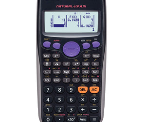Casio FX-82 ZA Plus Calculator - Black - FYIonline