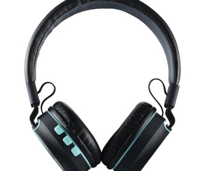 Amplify Fusion Series Bluetooth Headphones - Black/Blue - FYIonline