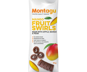 Montagu Fruit Swirls Mango 50g Pack of 10