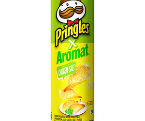 Pringles Chicken Salt flavoured savoury snack 110g Pack of 12