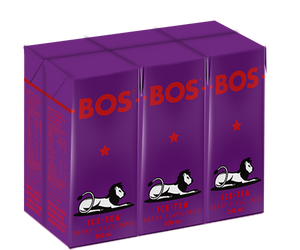 BOS Ice Tea Berry 200ml Tetra 6pack