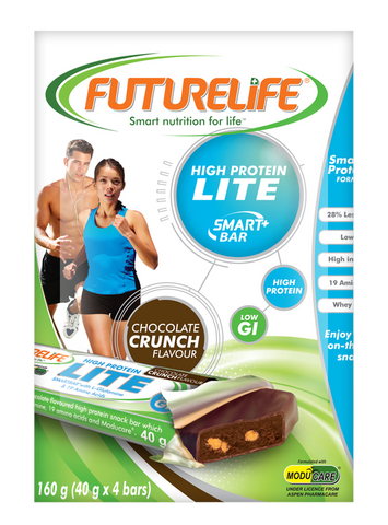 Futurelife Smartbars High Protein LITE SmartBar Chocolate 4 x 40g Case of 10