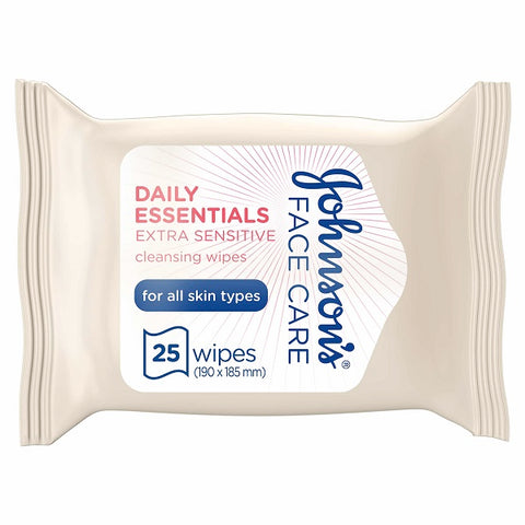 Daily Essentials Wipes Fragrance Free 25s Pack of 6