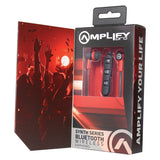 Amplify Synth Series Bluetooth Earphones - Black/Red - FYIonline