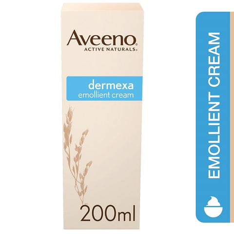 Aveeno Dermexa Emollient Cream 200ml Pack of 6