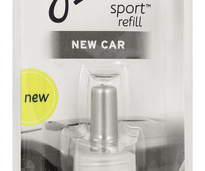 Glade Sport Liquid Car Perfume New Car Refill 1 x 7ml