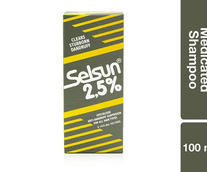 Selsun 2.5 Medicated Shampoo 100ml